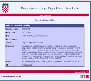 HMD - registar udruga