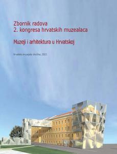 Naslovnica Zbornika 2. kongresa hrvatskih muzealaca