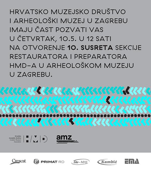 HMD – 10. susret Sekcije restauratora i preparatora Hrvatskog muzejskog društva (PRESS)